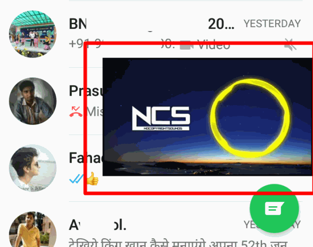 how to use other applications while watching youtube video