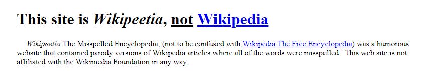 wikipeetia