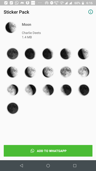 moon stickers for whatsapp