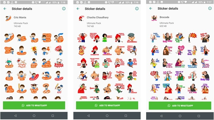 best android apps for whatsapp stickers