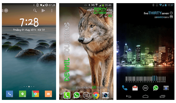 best clock widgets for android
