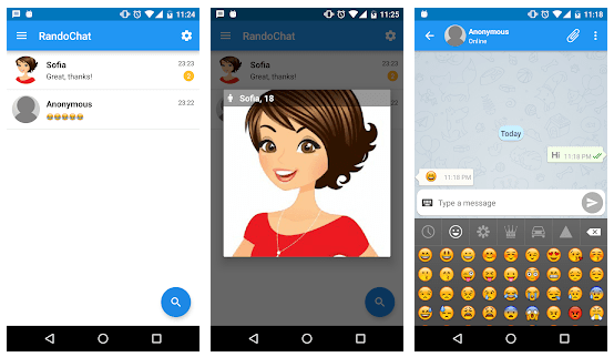 rando chat anonymous chat apps