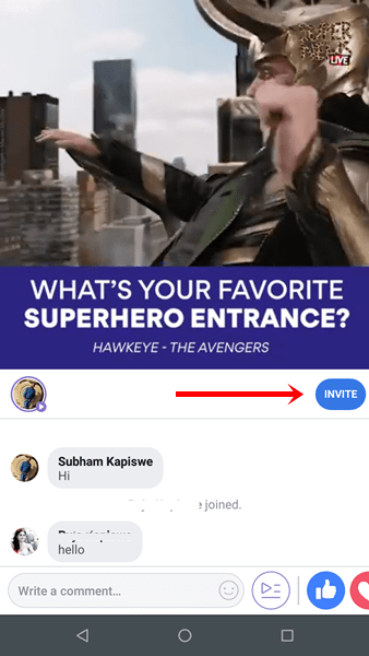 facebook watch party add video