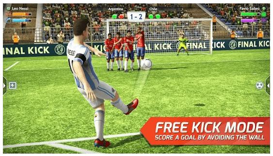 final kick 2019 soccer game