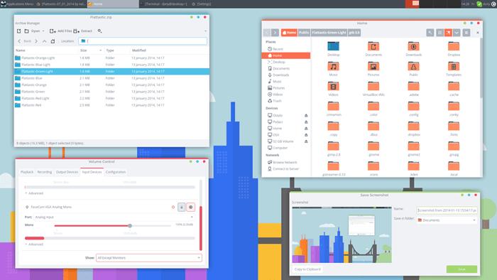 best windows 10 themes flattastic