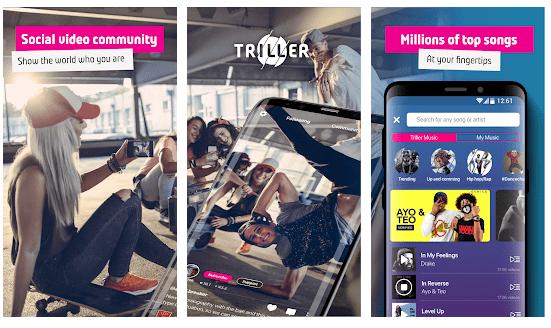 triller: apps like tiktok