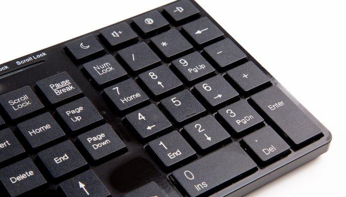 keyboard numpad