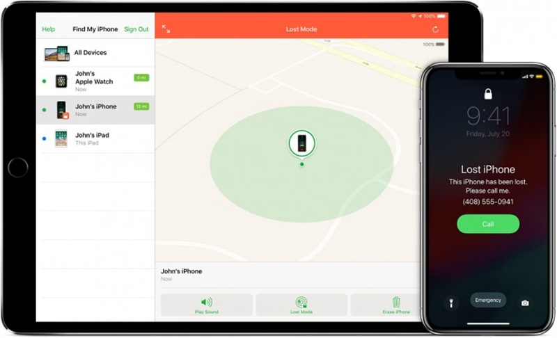 Apple Find My iPhone Tracking