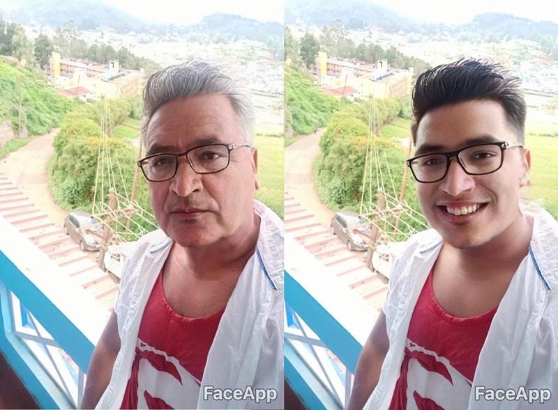 FaceApp Viral Ageing App