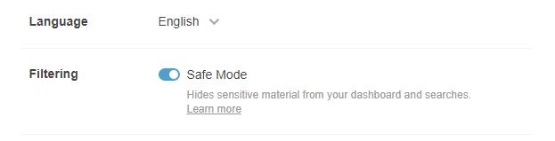 tumblr safe mode 2