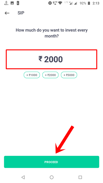 Enter Amount Start SIP Online