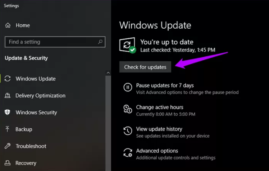 Update Windows 10 to the Latest Version