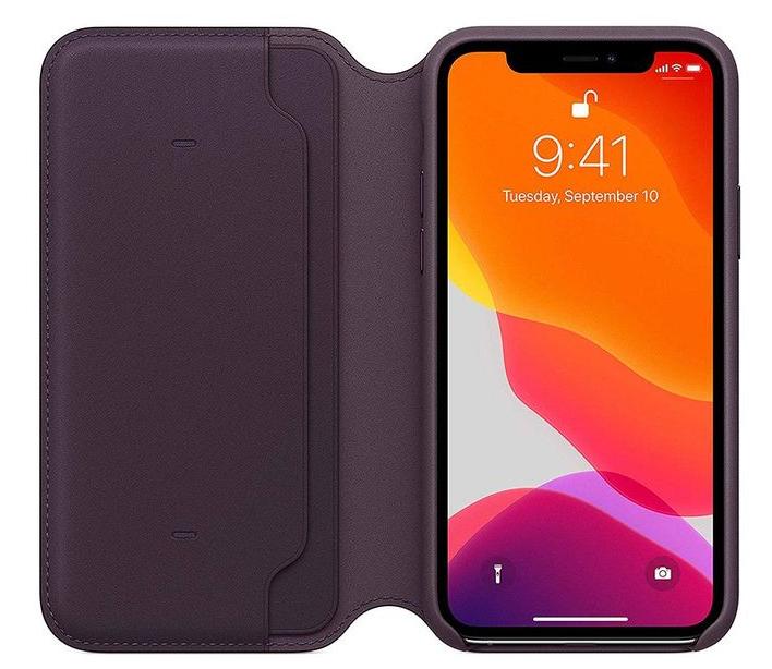 Apple Leather Folio Case For iPhone 11 Pro