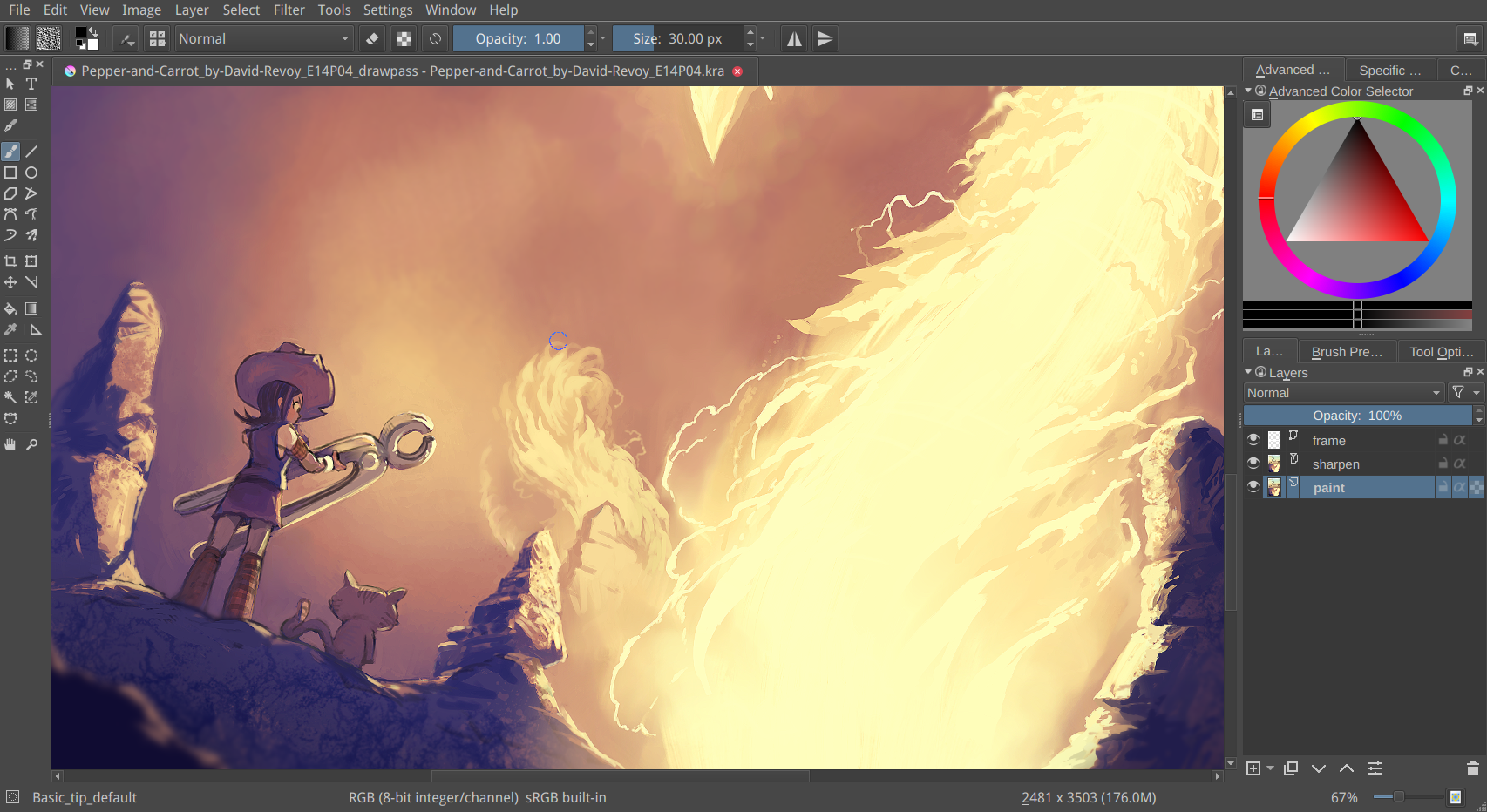 Krita: Best drawing apps for Windows 10