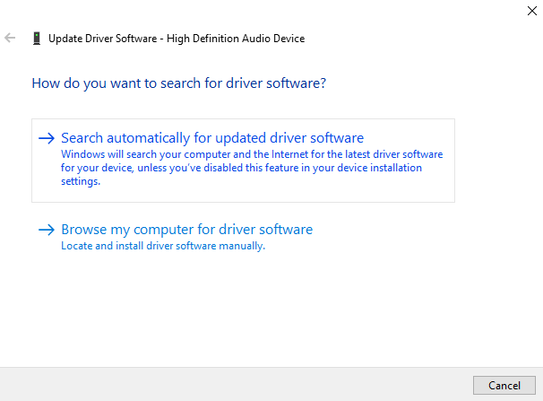 Update Windows 10 drivers autoomatically