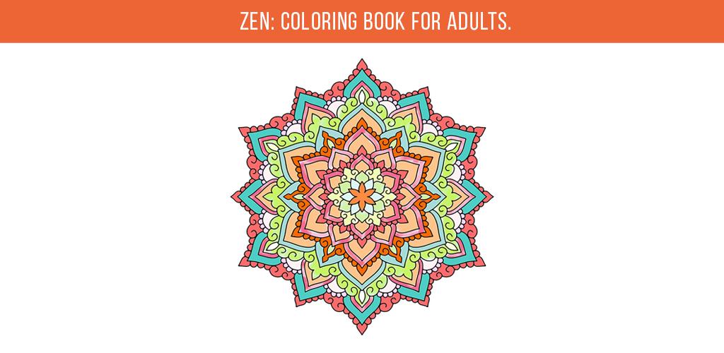 Zen coloring book for adutls
