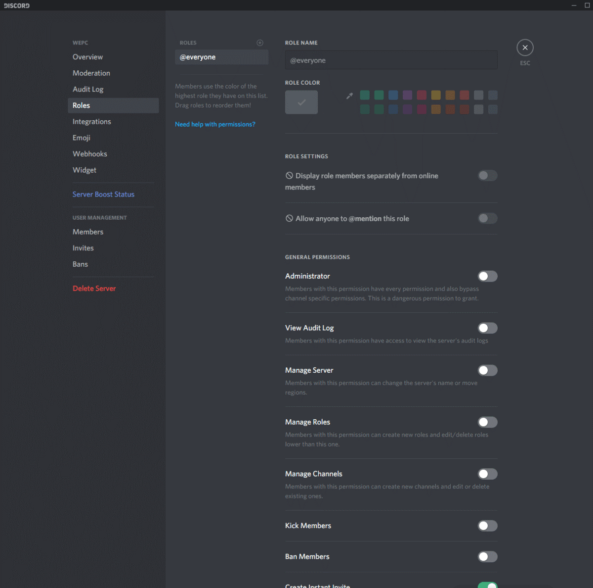 how to add roles in Discord 2