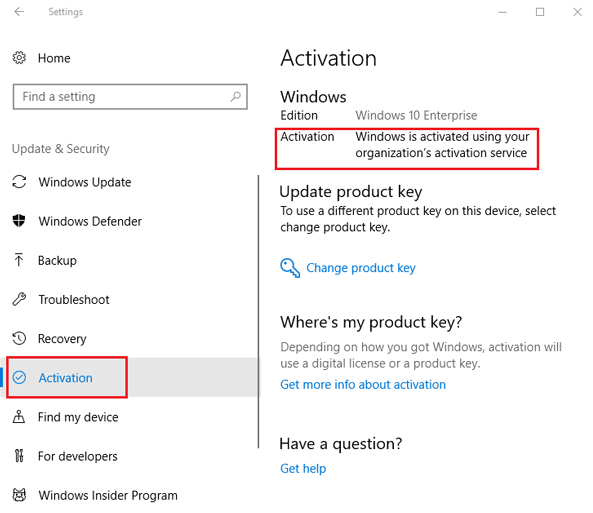 Check if Windows is updated or not