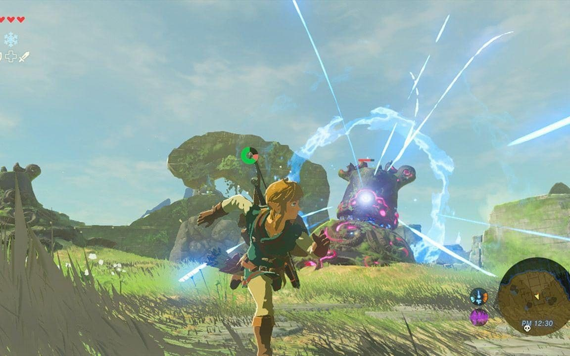 The Legends ofZelda: Breath of the Wild