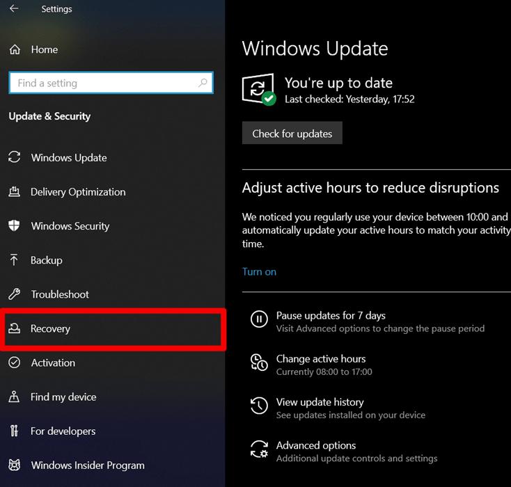 reset windows pc ss 3